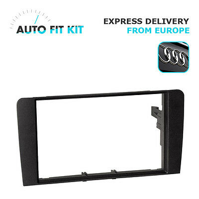 Audi A3 2004 -  2012 2 Din Double DIN Radio Facplate Fascia Frame Panel Dash