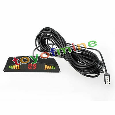 Car Parking Sensor LED Display Auto Cars Reverse Backup Radar Monitor Indicator
