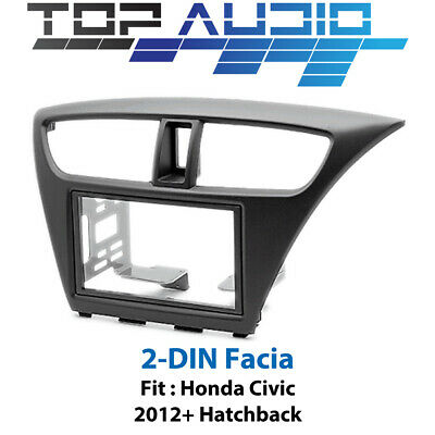 Honda Civic stereo radio Double 2 Din fascia dash panel facia plate kit