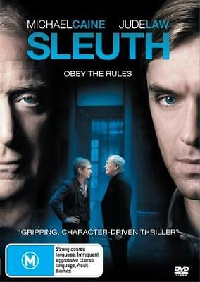 Sleuth - Michael Caine Jude Law Drama New Dvd Movie Sealed