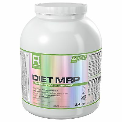 Reflex Nutrition Diet MRP 2.4kg High Protein Diet Meal Replacement Powder Shake