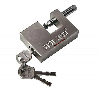 Heavy Duty Shutter Lock Locks Padlock Padlocks 50 Mm 70 Mm 90 Mm 3 Keys New