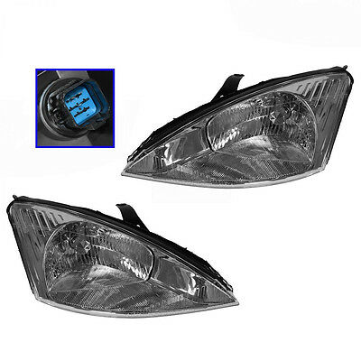 Ford Focus 00 - 04 Headlights Headlamps Pair  Left & Right... NEW