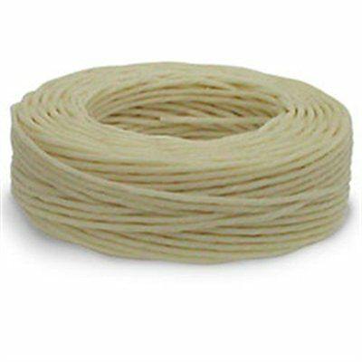 Waxed Linen Thread 25 yds. (22.9 m) Natural Tandy Leather 11207-02