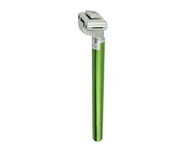25.4mm Aluminum Micro Adjust Seat Post Green Anodized 25.4