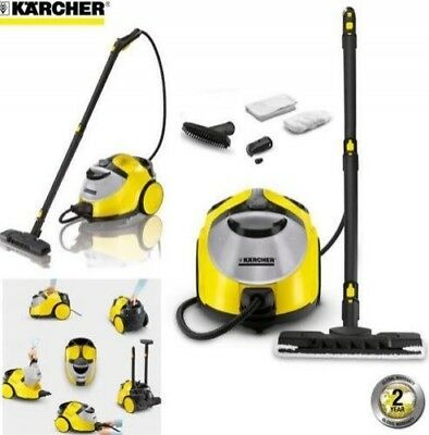 Karcher SC5 Refillable 2300W Continuous Steam Cleaner - 1.5 Litre / Yellow