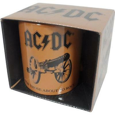 AC/DC: For Those About To Rock Coffee / Tea Mug - New & Official In Picture Box