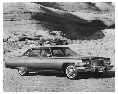 1976 Cadillac Fleetwood Brougham Automobile Factory Photo ch6821