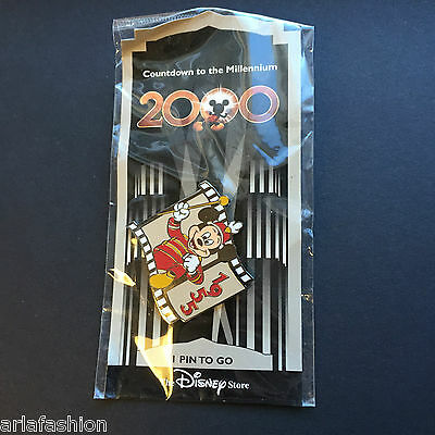 Countdown to the Millennium Series #2 (Mickey Mouse Club March) Disney Pin 652