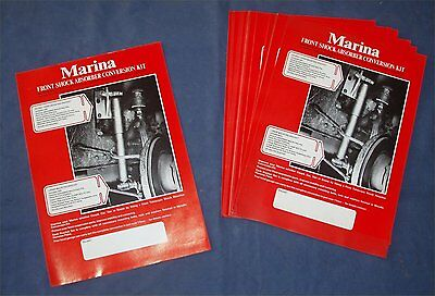 Descriptive Leaflet - Morris Marina Front Shock Absorber Conversion Kit (F & R)