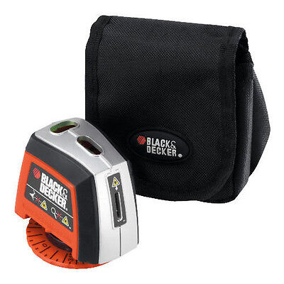 BLACK & DECKER Manuell Rotierend Basis Laser Linie Level Für Fliesen,Regale,