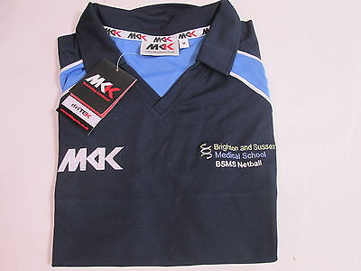 MKK Netball Shirt Size Small Medical School Brighton And Sussex BSMS #9D244
