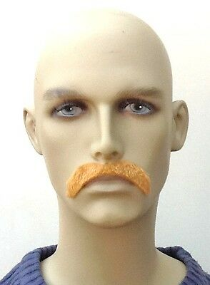 Dark Blonde Droop Style Fancy Dress Moustache