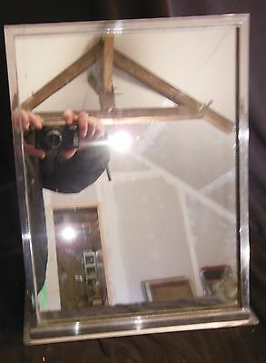 RARE MIRROR MODERNIST by JACQUES ADNET,ART DÉCO