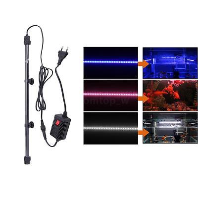 Aquarium Fish Tank 60 LED Bar Submersible Waterproof Light Lamp Aquarium Light