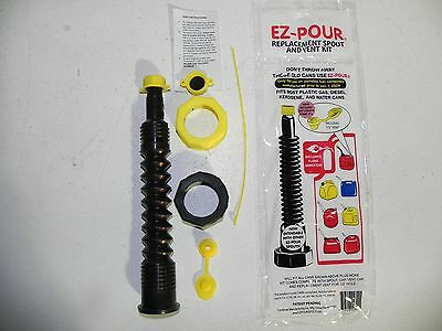 EZ Pour Gas Can Nozzle Replacement Kit 1 BlK Better seal on Nozzle no leaks.