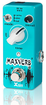 Xvive D1 Maxverb Reverb Guitar Pedal - New