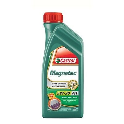 1L Car Engine Oil 1 Litre SAE 5W30 Fully Synthetic Ford Spec - Castrol Magnatec