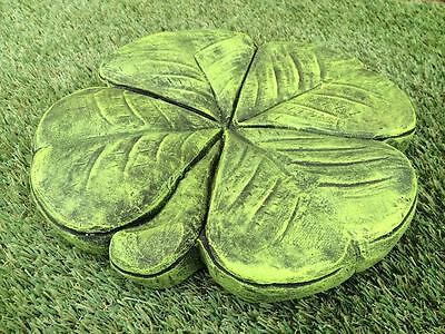 Four Leaf Clover Stepping Stone or Wall Plaque Latex & Fibreglass Mould