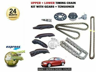 For Bmw 1 Series Coupe 118D 120D 123D 2007-> Upper + Lower Timing Chain Kit Set
