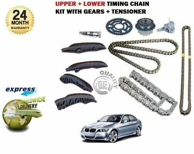 For Bmw E90 316D 318D 320D 325D 330D 2005-> Upper + Lower Timing Chain Kit Set