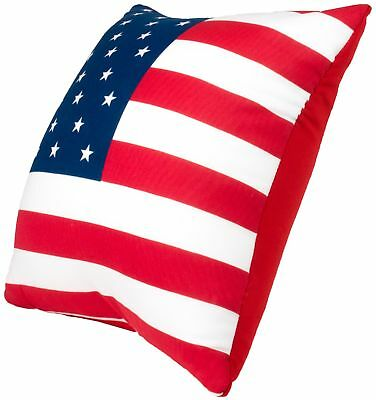 U.S. Flag Design Microbead Travel Pillow