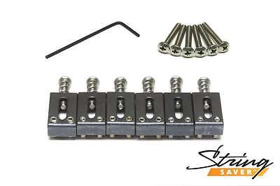"""Graph Tech String Saver Strat and Tele 2-1/16"""" string spacing PS-8000-00 NEW"""