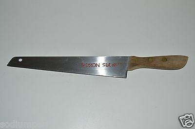 """WOW Great Vintage Tedron Swords Chef's Kitchen Vegetable Chopping 9"""" Knife Sharp"""