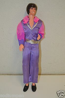 WOW Great Original Vintage 1968 Mattel Donny Osmound Doll Purple Outfit RARE