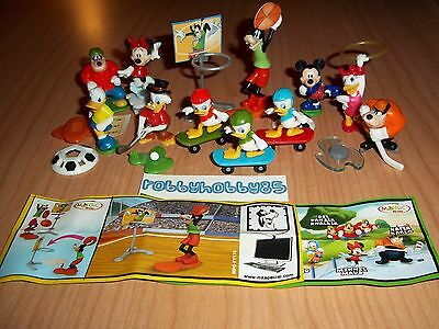 Pezzi A Scelta Serie Mickey Mouse & Friends Ft172 - Ft180 Kinder Sorpresa 2014
