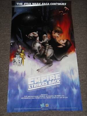 Sdcc Star Wars Poster The Empire Strikes Back 2 Sides
