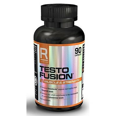 Reflex Nutrition Testo Fusion 90 Capsules Testosterone Test Booster Pills Tablet