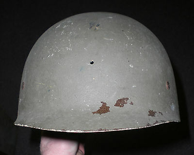 """St. CLAIR / LOW PRESSURE TYPE, FACTORY """"REJECTED"""" M1 HELMET LINER-CHILDS TOY"""