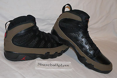 100% authentic 8fb5c 1f997 Nike Air Jordan 9 Retro Olive IX - CHOOSE YOUR SIZE- 302370-020 Bred
