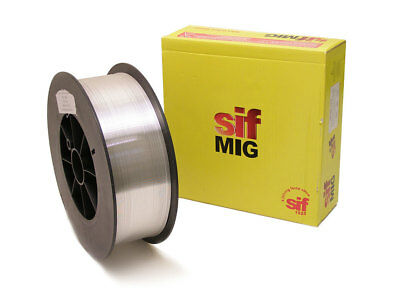 Mig Welding Wire - Aluminium 5356 - 1.0mm 6.5KG (15KG Size) SIF High Quality