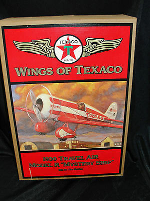 "WINGS OF TEXACO - 1930 TRAVEL AIR MODEL R ""MYSTERY SHIP"" - 5TH IN THE SERIES"