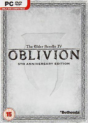 The Elder Scrolls IV 4: Oblivion 5th Anniversary Edition Complete Collection PC