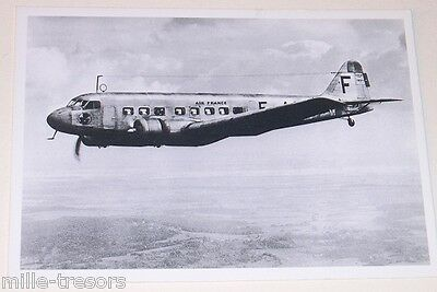 Carte Postale Aviation : BLOCH 220 AIR FRANCE 1937 - Collection MUSEE AIR FRANCE