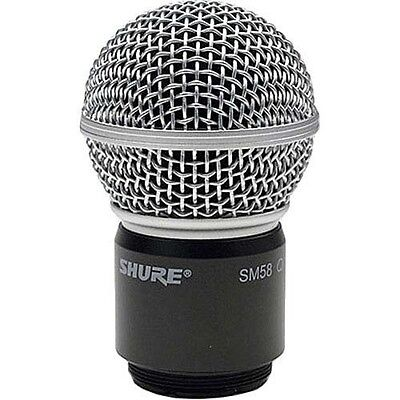 Shure RPW112 Wireless SM58 Cartridge, Housing and Matte Grille