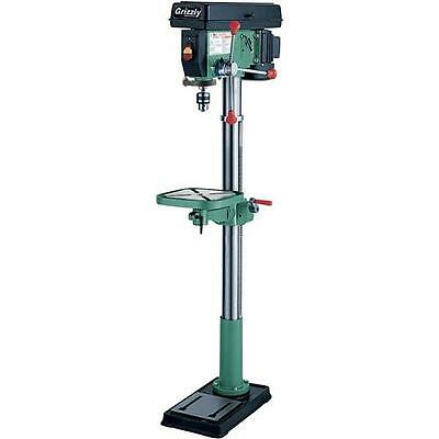 """G7944 Grizzly 12 Speed Heavy-Duty 14"""" Floor Drill Press"""