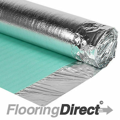 15m² - 3mm Comfort Silver - Acoustic Underlay For Wood - Laminate Flooring