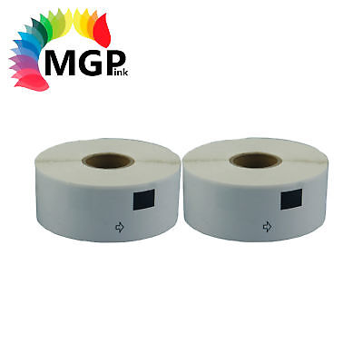 2 ROLLs COMPATIBLE DK11201 DK 11201 BROTHER Standard Address Label 29mm x 90mm