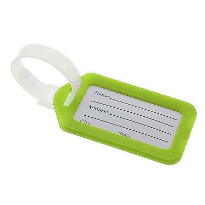 10X Outdoor Travel Luggage Tag Name Address ID Label Suitcase Baggage Tags Set