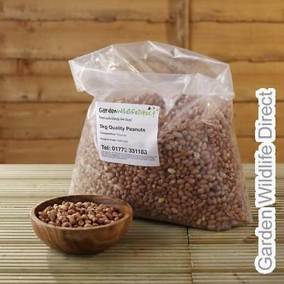 5kg Peanuts Aflatoxin Tested / Wild Bird Nuts / Garden Birds Food