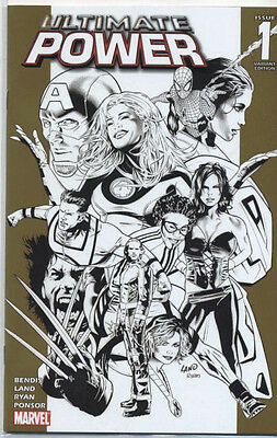 Ultimate Power (2006-2008) #1 of 9 (Retailer Incentive Sketch Variant)