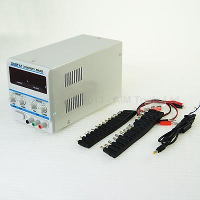 312055A DC 0 - 30V Electronic Precision Adjustable Power Supply With Accessories