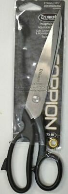 "Triumph Scorpion Dressmaking Scissors 270mm, 10.5"", Powerful Cutting, Adjustable"