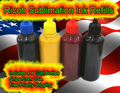 Sublimation Ink for RICOH  3110DN 3110DNW 7100DN GXE3300 GXE7700 GX7000