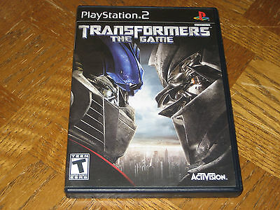 Transformers: The Game PlayStation 2 PS2 Complete CIB