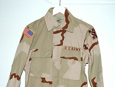 Us Army Desert Camouflage Combat Coat. (A1)